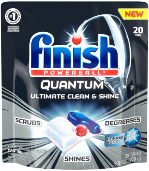 FINISH® Powerball® Quantum® Tabs - Baking Soda