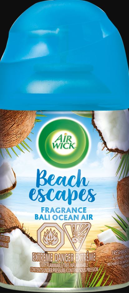AIR WICK FRESHMATIC  Beach Escapes Bali Ocean Air Photo