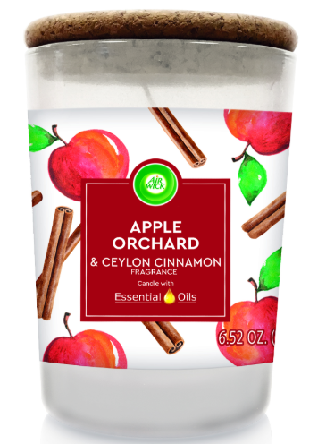 AIR WICK® Candle - Apple Orchard & Ceylon Cinnamon