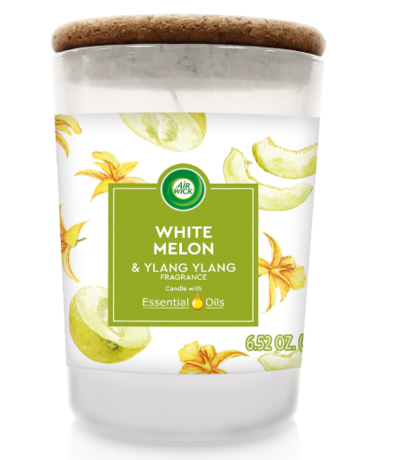 AIR WICK® Candle - White Melon & Ylang Ylang