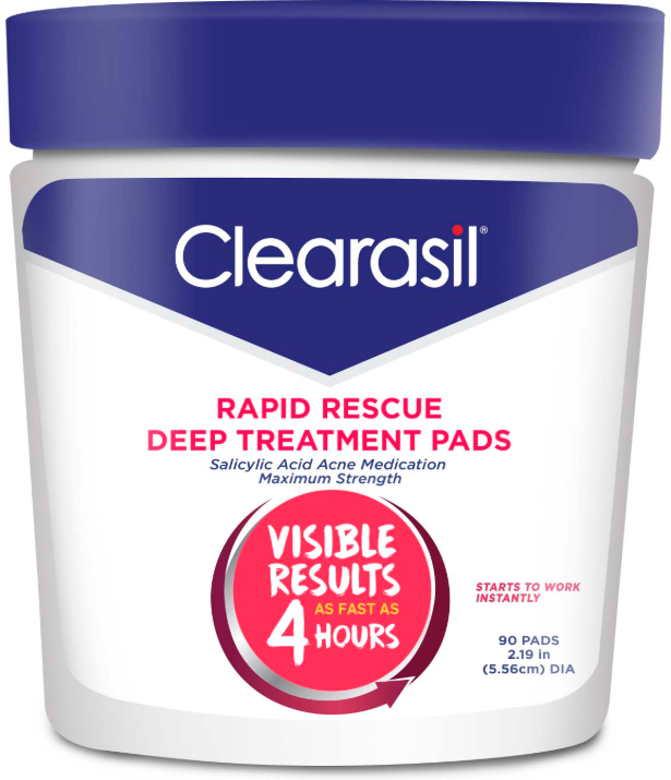 CLEARASIL® Rapid Rescue Deep Treatment Pads