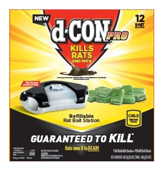 d-Con® Pro Refillable Rat Bait Station
