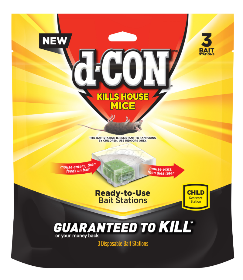 d-CON® Ready-to-Use Bait Stations