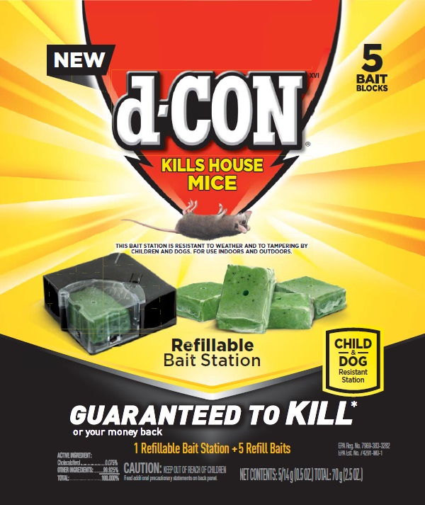 dCON XVI Kills House Mice  Refillable Photo