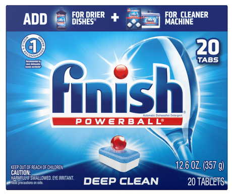 FINISH® Powerball® All In 1 Tabs - Fresh Scent