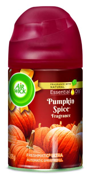 AIR WICK FRESHMATIC Ultra  Pumpkin Spice Spread The Joy Photo
