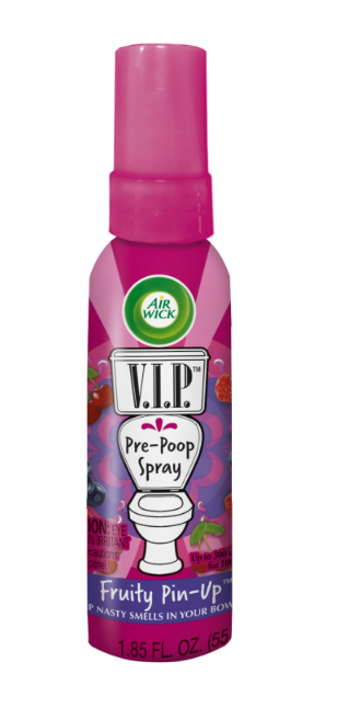 AIR WICK® VIP Pre-Poop Toilet Spray - Fruity Pin-Up