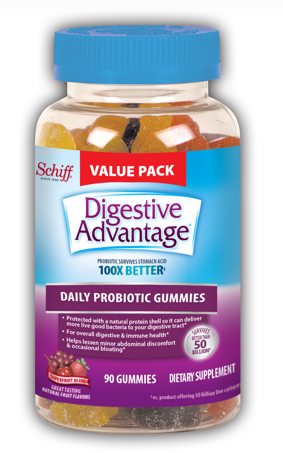 DIGESTIVE ADVANTAGE Probiotic Gummies  Superfruit Blend  Photo