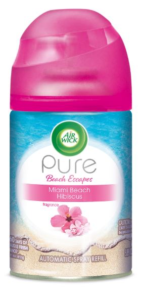 Air Wick Automatic Spray - Pure Beach Escapes Miami Beach Hibiscus 5.89 oz