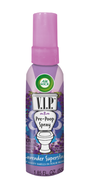 AIR WICK® VIP Pre-Poop Toilet Spray - Lavender Superstar