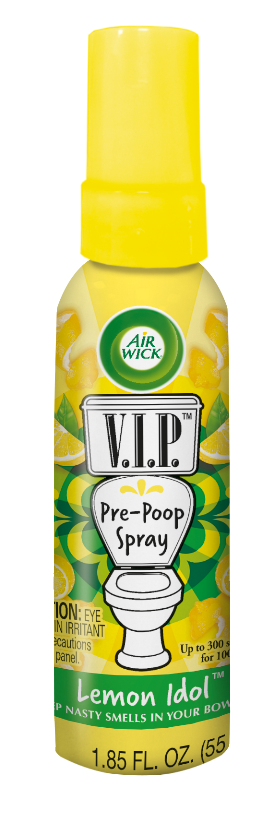 AIR WICK® VIP Pre-Poop Toilet Spray - Lemon Idol