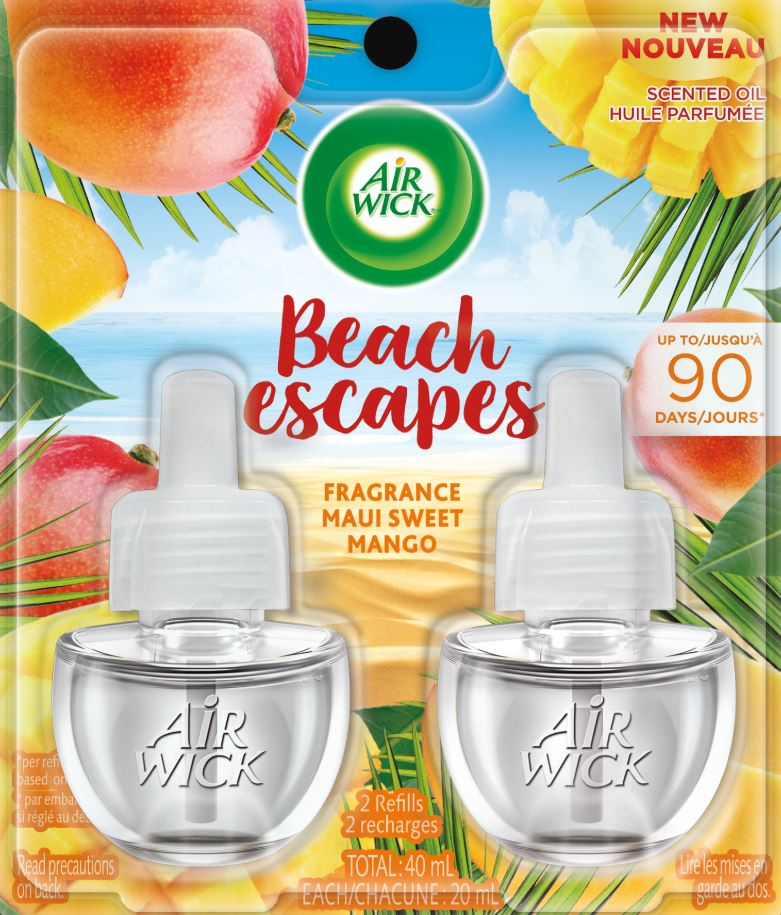 AIR WICK® Scented Oil - Beach Escapes Maui Sweet Mango (Canada)