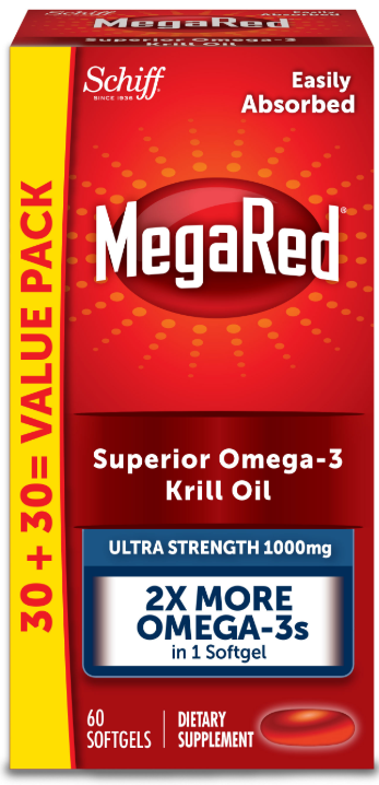 MegaRed® Ultra Strength Omega-3 Krill Oil - 1000 mg Softgels