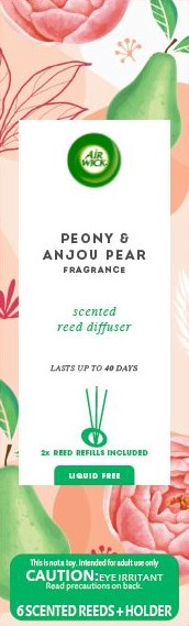 AIR WICK® Reed Diffuser - Peony & Anjou Pear
