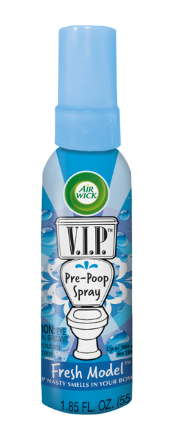 AIR WICK® VIP Pre-Poop Toilet Spray - Fresh Model