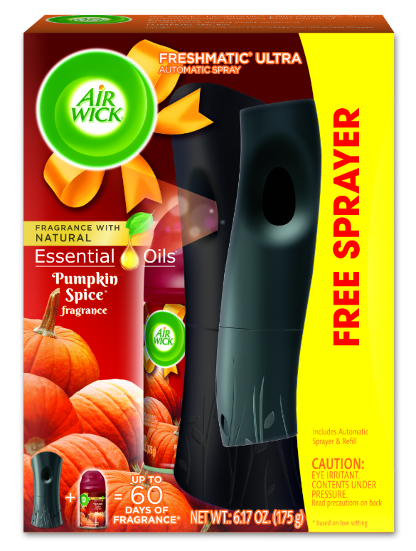 AIR WICK® FRESHMATIC Ultra Starter Kit - Pumpkin Spice (Spread The Joy™)