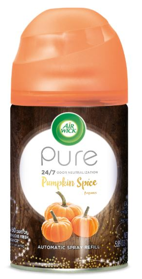 Air Wick Automatic Spray Starter Kit - Pure Pumpkin Spice 5.89 oz