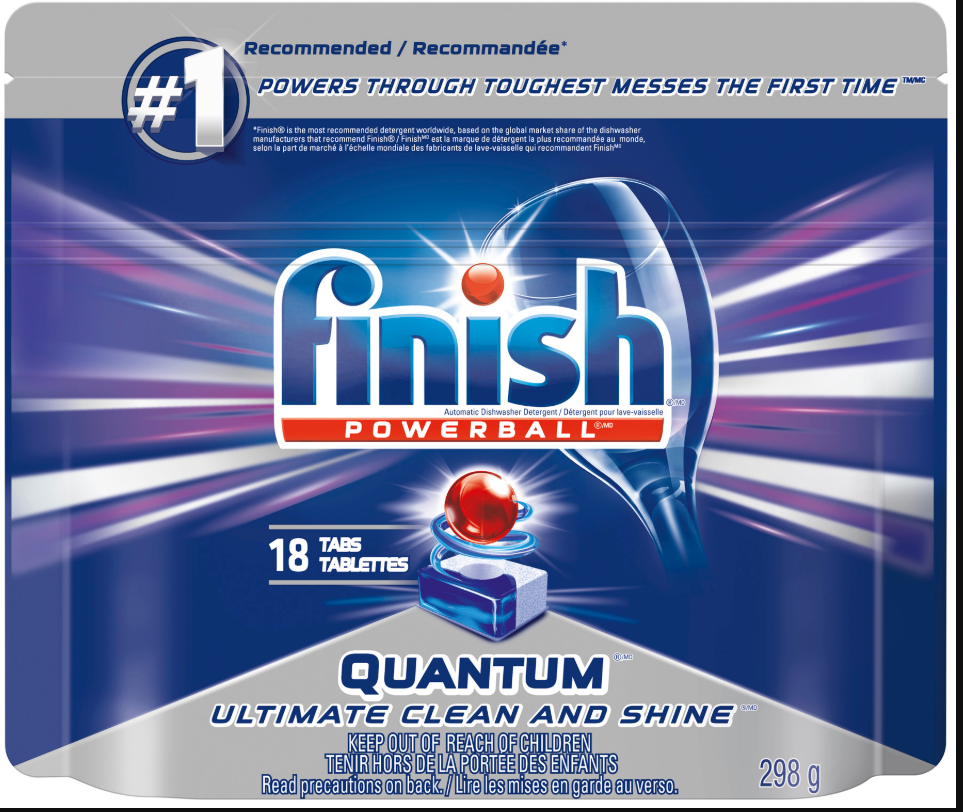 FINISH® Powerball® Quantum Ultimate Clean and Shine (Canada)