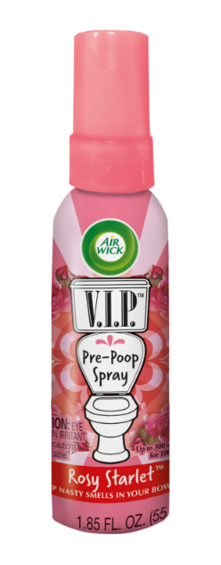 AIR WICK® VIP Pre-Poop Toilet Spray - Rosy Starlet