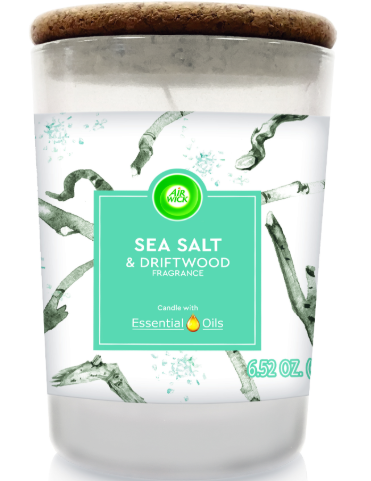 AIR WICK® Candle - Sea Salt & Driftwood
