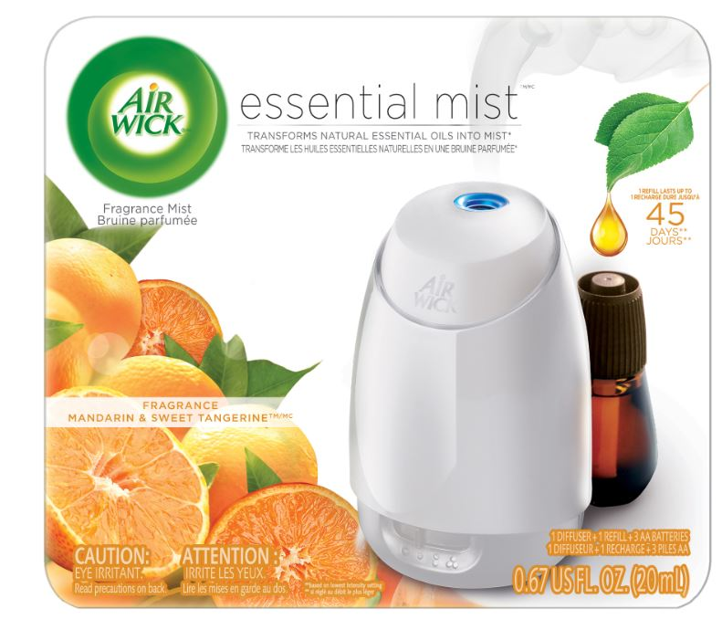 AIR WICK® Essential Mist - Mandarin & Sweet Tangerine - Kit (Canada)