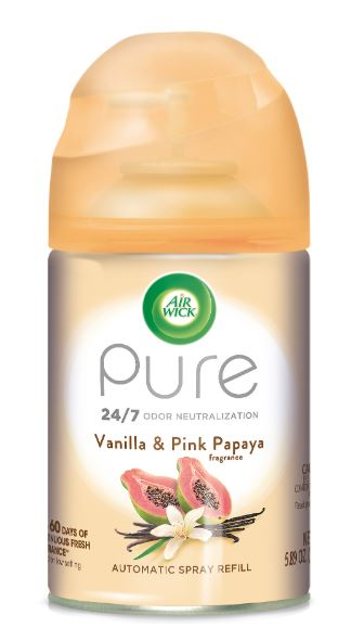 Air Wick Automatic Spray - Pure Vanilla & Pink Papaya 5.89 oz
