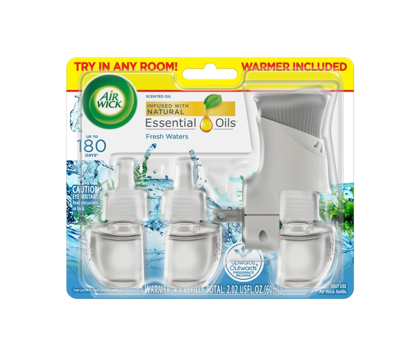 AIR WICK® Scented Oil - Fresh Waters - Kit